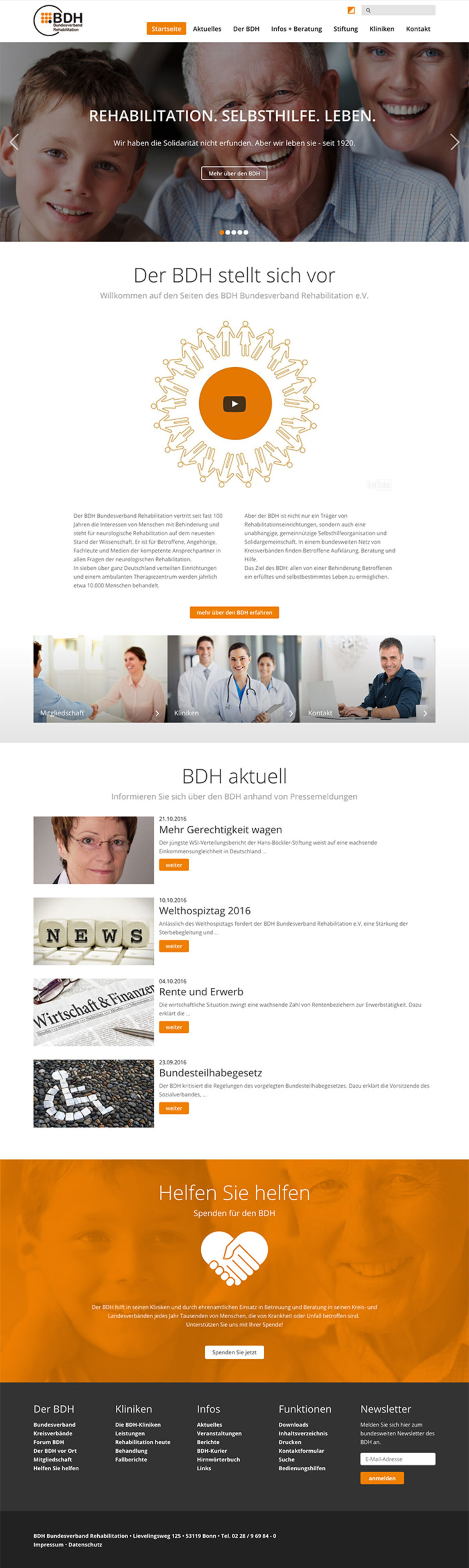 BDH Bundesverband Rehabilitation